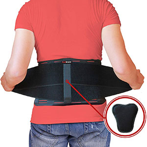 AidBrace Back Brace for Lower Back