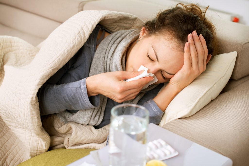 Influenza symptoms and treatment