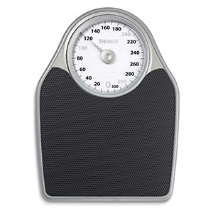 Thinner Scales Precision Analog Bathroom Scale